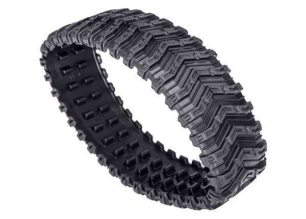 Traxxas Rubber track, All-Terrain, rear (left or right) (rubber) (1)