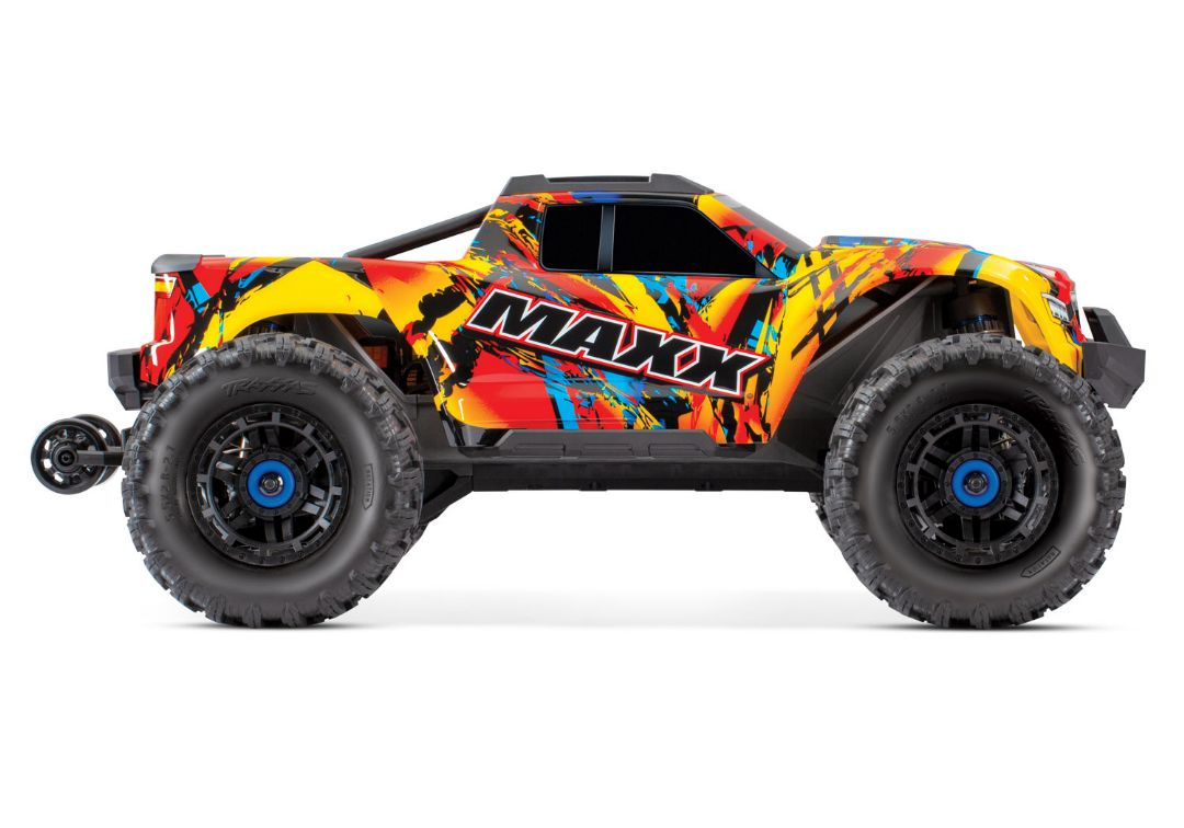 Traxxas Maxx with 4S ESC - Solar Flare 1/10 Scale 4WD Brushless