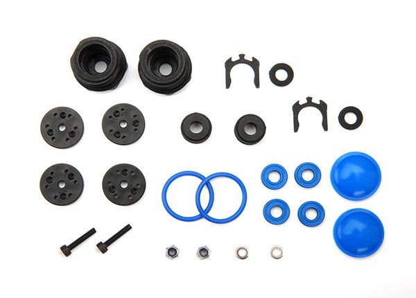 Traxxas Rebuild kit, GT-Maxx shocks (lower cartridge, assembled, pistons, piston nuts, bladders) (renews 2 shocks)