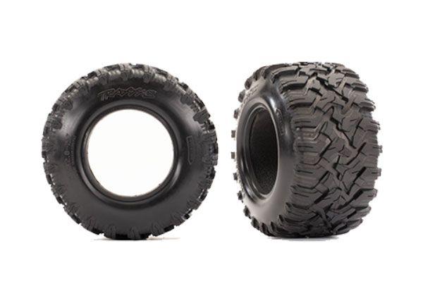 Traxxas Tires, Maxx All-Terrain 2.8' (2)/ foam inserts (2)