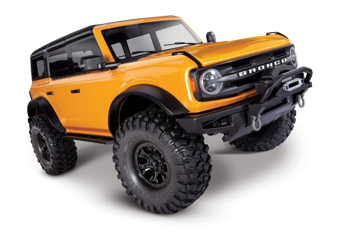 Traxxas TRX4 Scale & Trail 2021 Ford Bronco 1/10 Crawler Orange