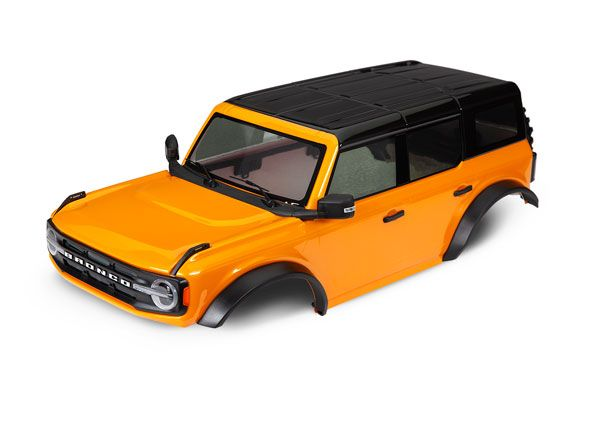 Traxxas Body, Ford Bronco (2021), complete, orange (painted)