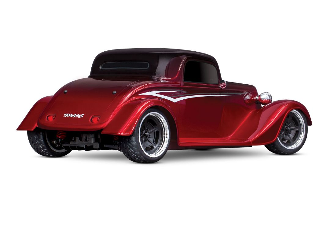 Traxxas Factory Five '33 Hot Rod Coupe 1/10 - Metallic Red Fade - Click Image to Close