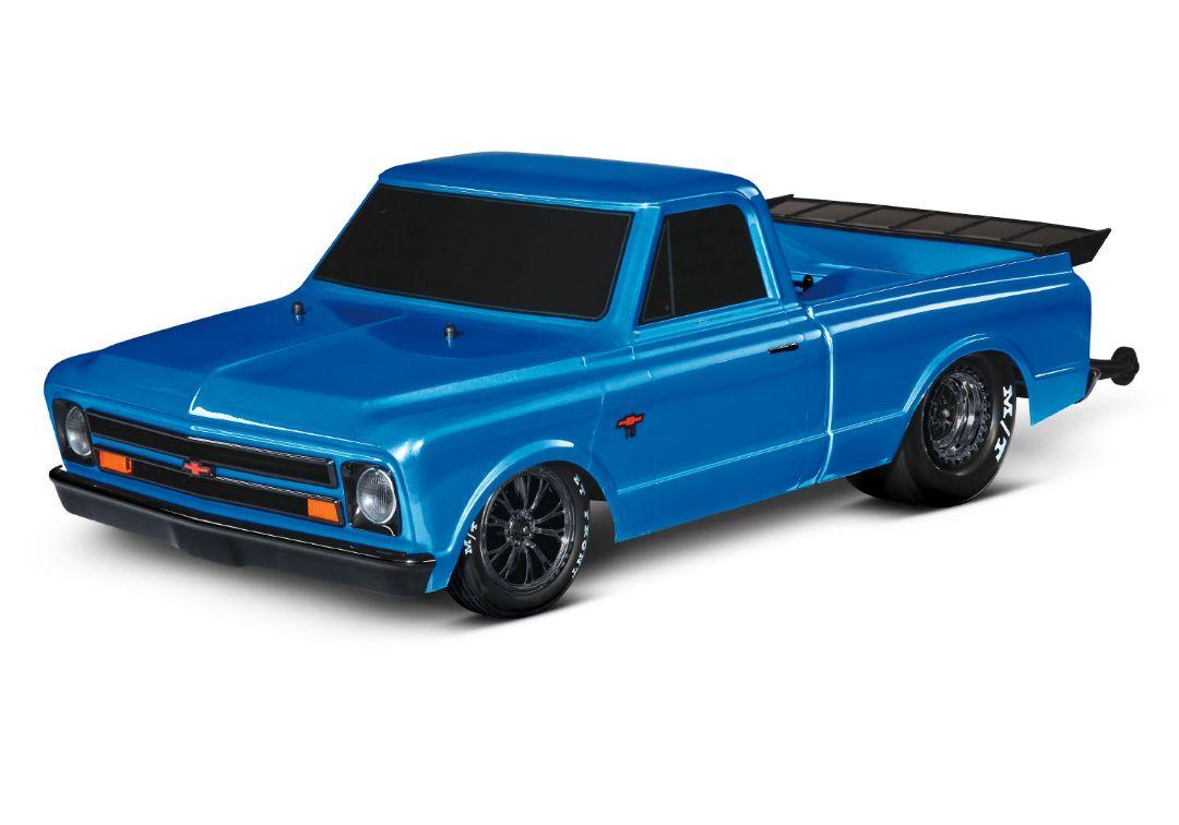 Traxxas 1967 Chevrolet C10 Drag Slash - Brilliant Blue
