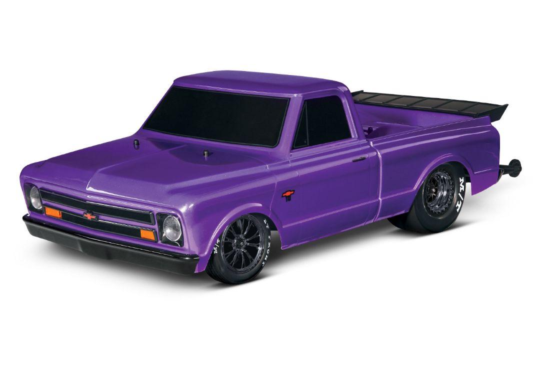 Traxxas 1967 Chevrolet C10 Drag Slash - Ultra Violet