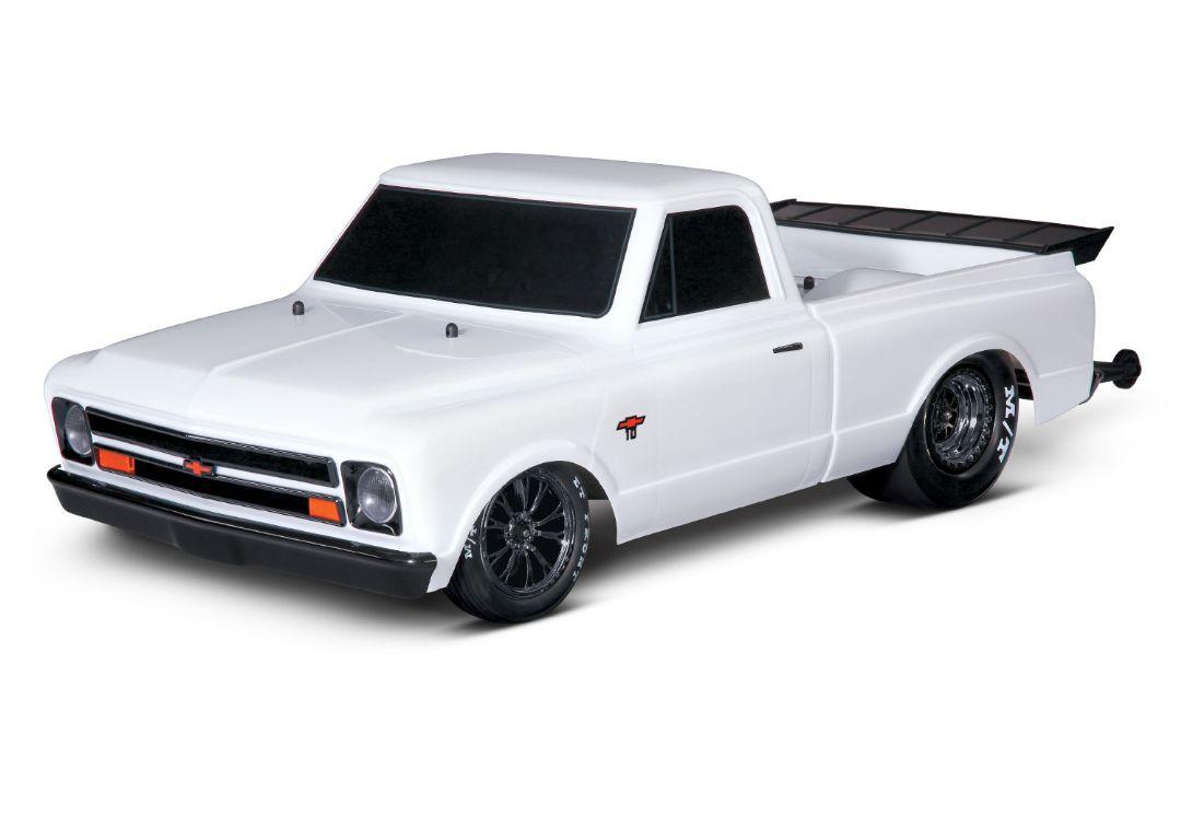 Traxxas 1967 Chevrolet C10 Drag Slash - Diamond White
