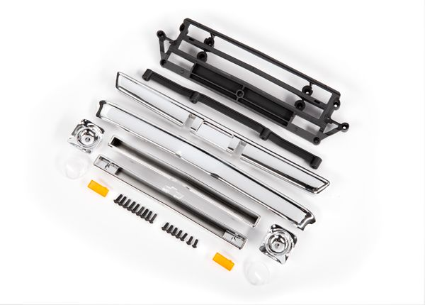 Traxxas Body accessories, Chevrolet C10, chrome (includes grille (upper & lower),headlight housings (left & right),bumpers (front & rear),mounting retainers and hardware)