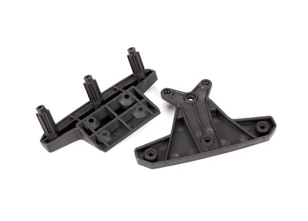 Traxxas Bumper, chassis, front (upper & lower)
