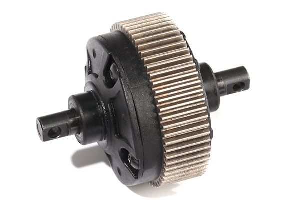 Traxxas Differential assembly (complete) (assembled with 500K oil) (fits Drag Slash)