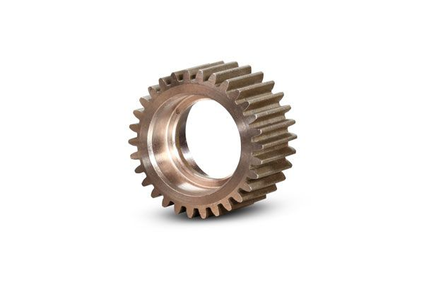 Traxxas Idler gear, 30-tooth/ idler gear shaft (steel)