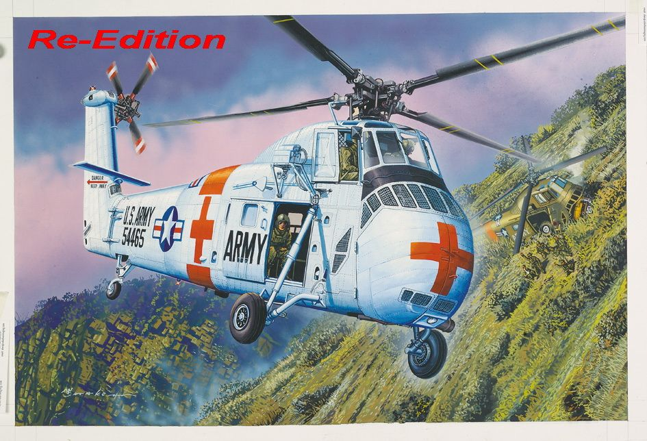 Trumpeter 1/48 CH-34 US ARMY Rescue - Re-Edition