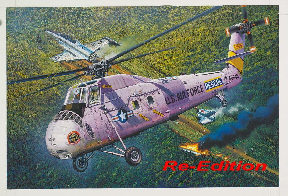 Trumpeter 1/48 HH-34J USAF Combat Rescue - Re-Edition