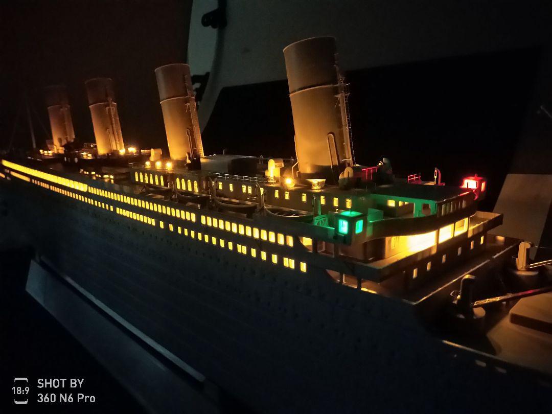 Trumpeter 1/200 Titanic - Click Image to Close