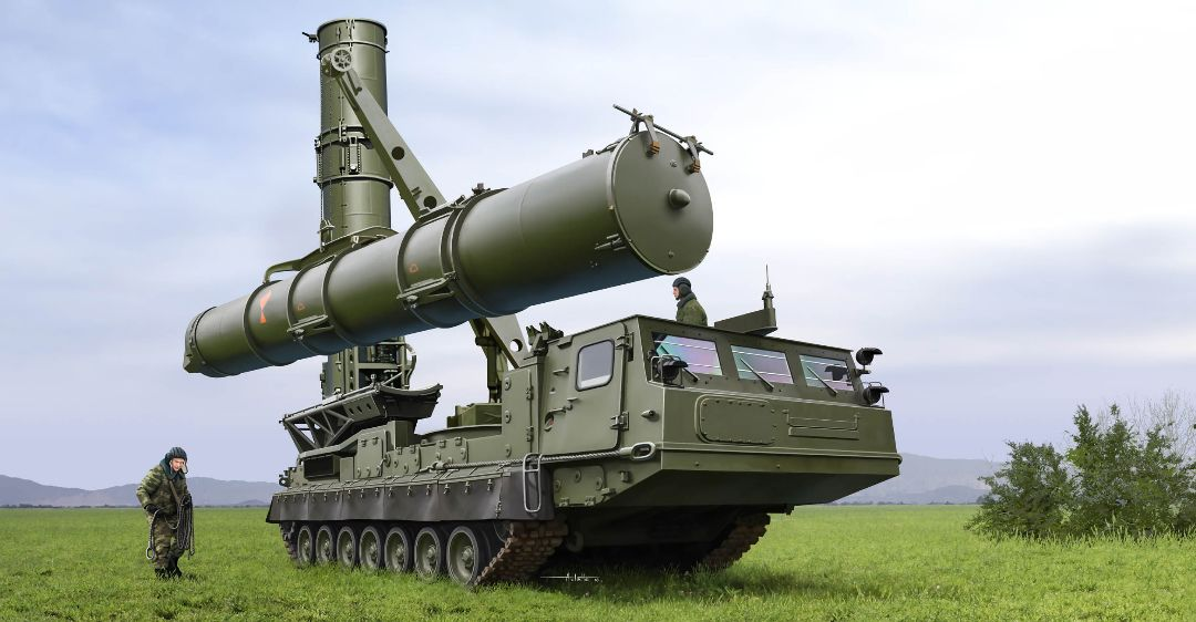 Trumpeter 1/35 Russian S-300V 9A84 SAM